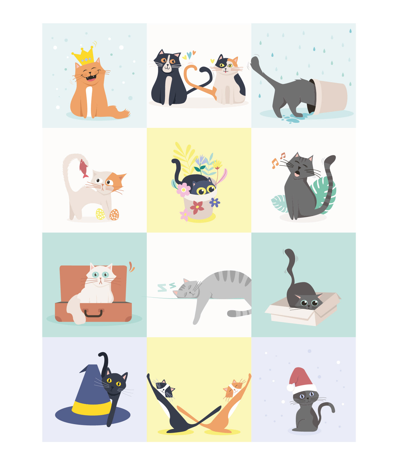 Calendrier illustrations