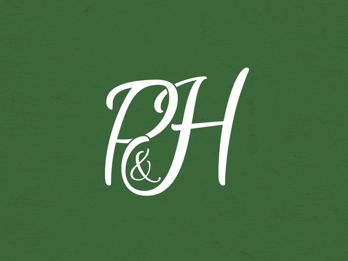 Logo du mariage de Pauline et Hubert